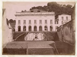 Martinique-Saint-Pierre-Theatre-Vintage-albumen-print-Tirage-albumine-2