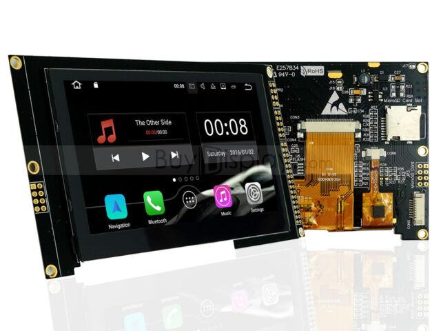 "4.3"" inch TFT LCD Display Capacitive Touchscreen w/RA8875,Pin Header,Tutorial"