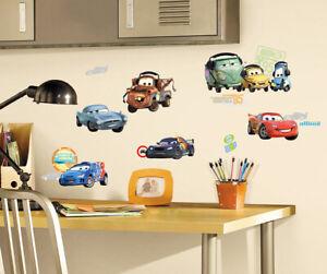 Roommates Wandsticker Kinderzimmer Disney Cars Autos Fahrzeuge Wandtattoo Auto Ebay