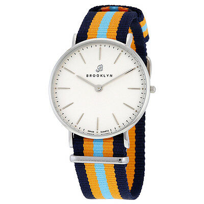 Brooklyn Flatland Casual Super Slim Swiss Quartz Watch