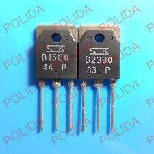 1pairs OR 2PCS Transistor SANKEN TO-3P 2SB1560/2SD2390 B1560/D2390