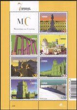 Portugal 2007 Buildings/Architecture/Castles/Fort/Temple/Heritage 7v sht (b750r)