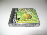 Sony Playstation 1 Ps1 Caesars Palace 2000 Black Label Game / & Sealed