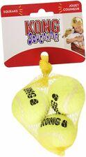 Kong Squeakair pequeña pelota de tenis Paquete de 3 Juguete Perro Fetch