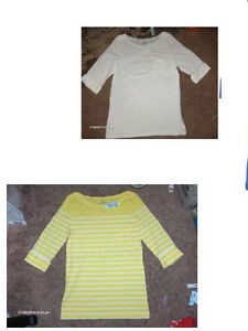 Nwt Old Navy Boat Neck Tee 3 4 Sleeve Ebay