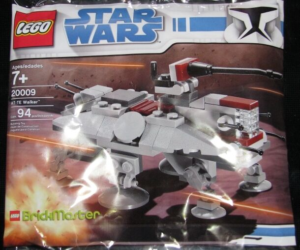 LEGO 20009 Polybag - Star Wars BrickMaster AT-TE Exclusive Mini Set [NEW]