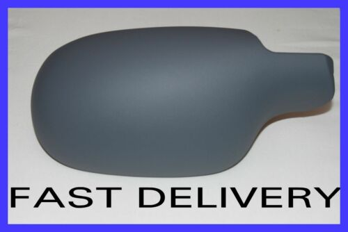 RENAULT SCENIC MK1 97-03 WING MIRROR COVER CASING CUP LEFT PASSENGER GREY PRIMED