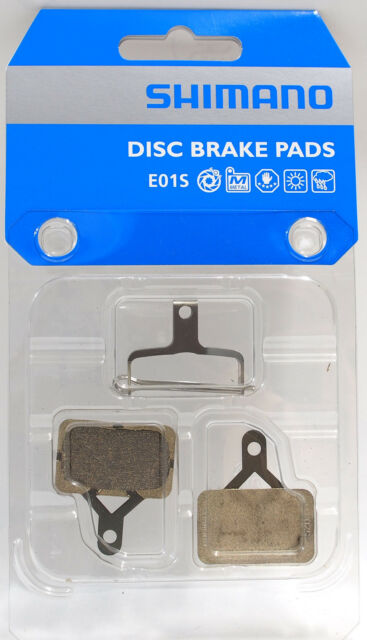 SHIMANO E01S M575,,M486//485446//445 SINTERED COMPOUND DISC BICYCLE BRAKE PADS