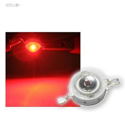Ben Informato 50 X Highpower Led 1 Watt Rosso, 1w Rosso High Power Smd Led, 350ma 1 W Red Rouge-mostra Il Titolo Originale