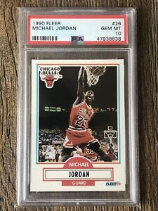 1990 Fleer Michael Jordan PSA GEM MINT 10