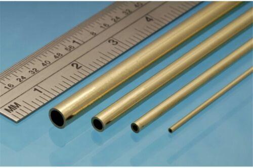 3p. ALBION ALLOYS BT6M Laiton Brass Tube  6 x 0.45 mm