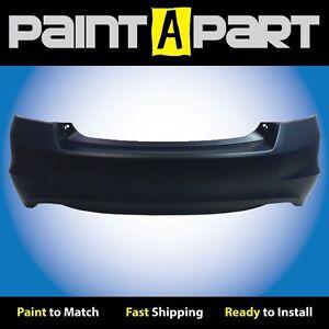 2008-2009-2010-2011-2012-Honda-Accord-SDN-6CYL-Rear-Bumper-PREMIUM-Painted