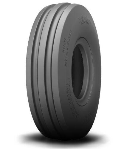 1 New 4.00-10 Deestone 4 ply 3-Rib Front Garden Tractor Tire /& Tube