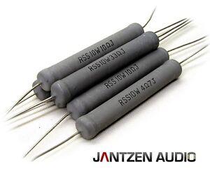 82,0 Ohm 2x Jantzen 5  Watt Keramik Widerstand