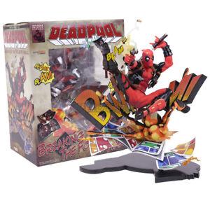 Detalles acerca de Marvel Deadpool romper la cuarta pared completo Figura  Coleccionable Modelo Juguete- mostrar título original