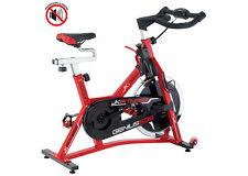 GENIUS 535 Jk Fitness indoor cycle cyclette volano 22 kg cinghia cardio palmare