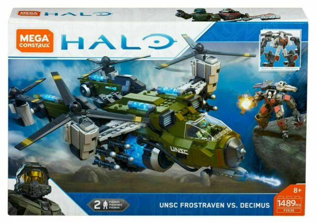 Mega Construx Halo UNSC Frostraven Vs. Decimus