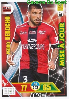 095 BAISSAMA SANKOH EN AVANT GUINGAMP CARTE CARD ADRENALYN LIGUE 1 2018 PANINI