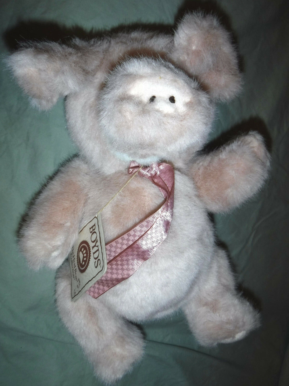 Boyds Bears Oinkins 11  Masters of Disguise Series Plush Soft Toy Stuffed Animal