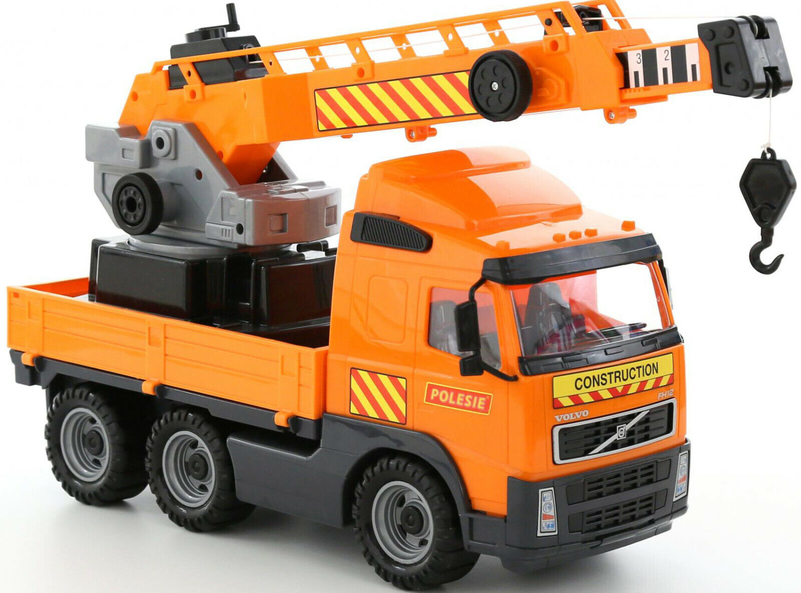 Polesie 8824 Power Truck mit Kran auf Wendeplattform günstig kaufen Spielzeugautos & Zubehör