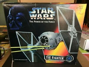 New-Star-Wars-Tie-Fighter-w-Ejecting-wings-POTF-open-Box-Free-Shipping