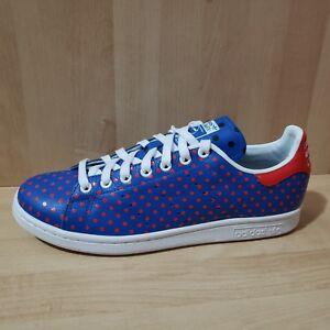 best website 02728 b349b Details about Adidas PW Stan Smith SPD B25400 Pharrell Williams Polka Dot  Sz 10 Mens Shoes