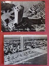 FORLI' - 2 VEDUTE AEREE CESENATICO GRATTACIELO - 1960