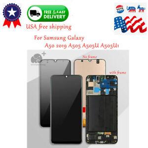 LCD-Screen-Touch-Digitizer-Frame-For-SAMSUNG-Galaxy-A50-2019-A505-A505U-A505U1