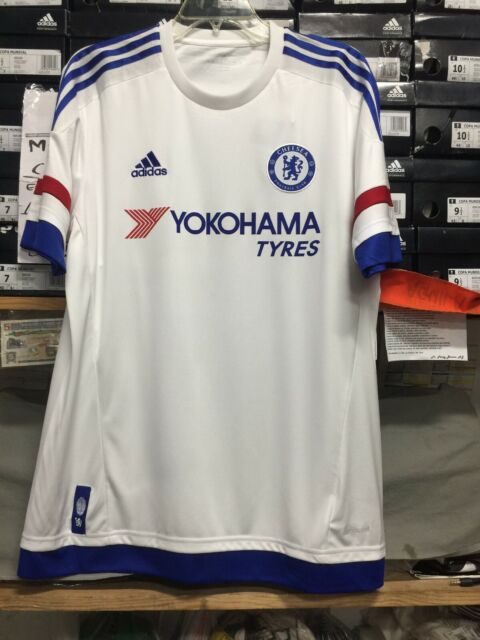 47103d84d AH5108 adidas CFC Chelsea Away White Soccer Jersey Men s Size L for ...