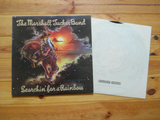LP: The Marshall Tucker Band Searchin for a Rainbow (Top Akustik)