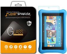 2x Supershieldz Amazon Fire HD 8 Kids Edition Tempered Glass Screen Protector