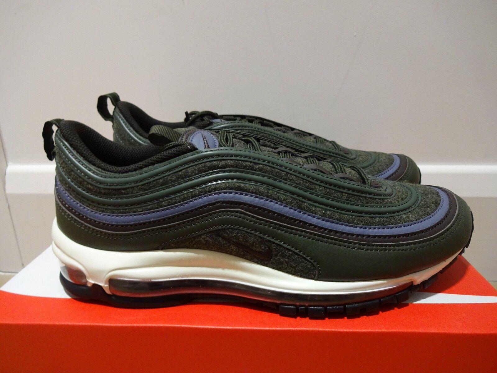 Nike air max 97 97 max premium - sequoia - braune  bnib  uk größe 7,5 312834 300 f09496