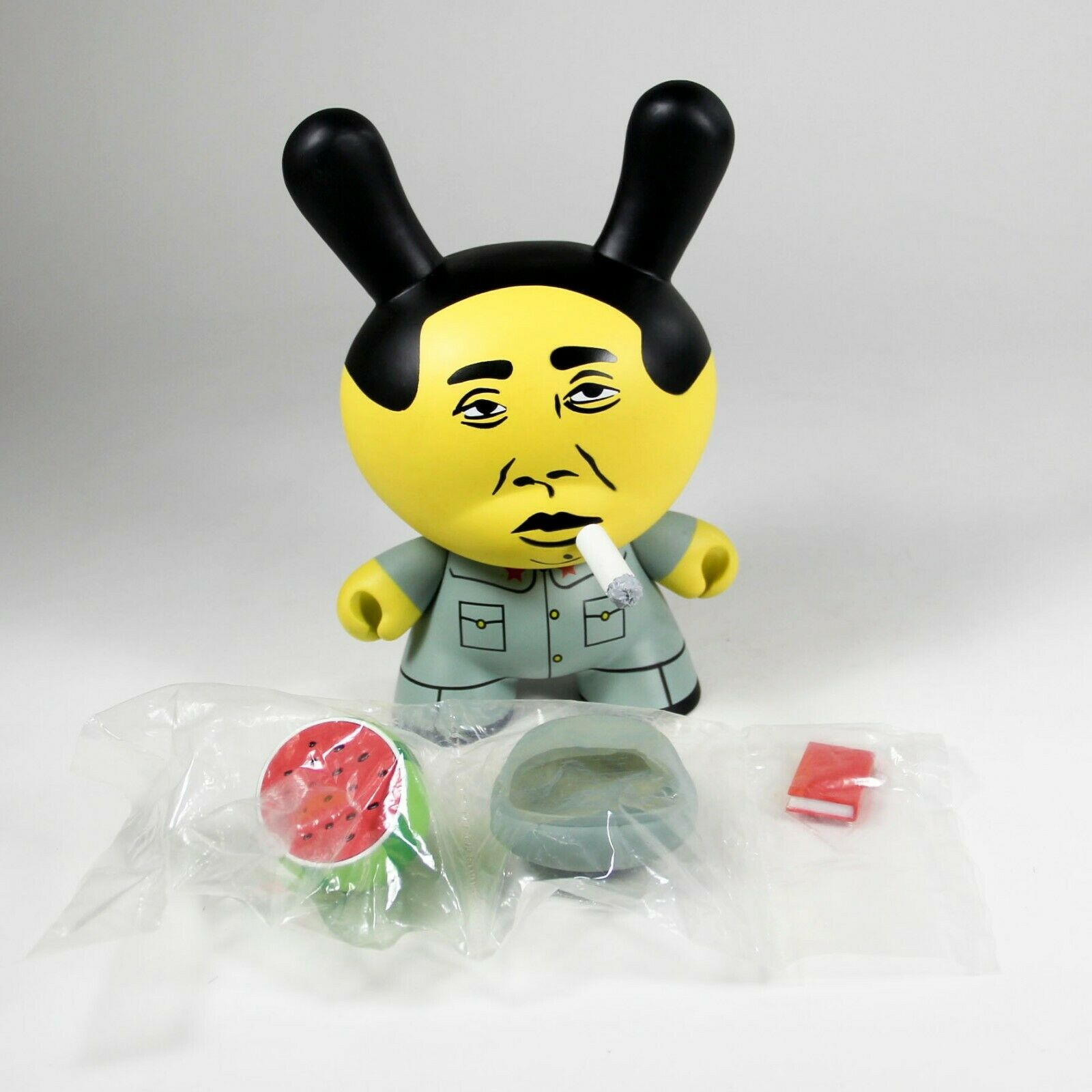 Kidrobot x Kozik Smorkin' Mao Dunny 8  The East East East is Red USED Limited Edition of 88176c