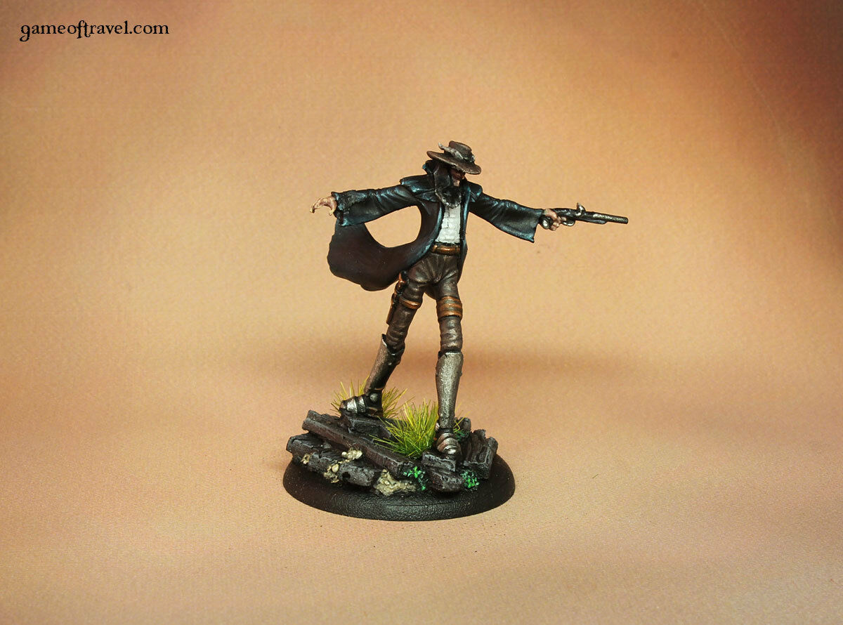 Malifaux Neverborn TUCO Painted  Miniature  sortie