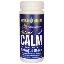 Calmful Sleep Wildberry by Natural Vitality - 4 Ounces