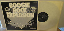 Mel Pike Boogie Factory, Magic Bobby Setter Band ‎– Boogie Rock Explosion LP