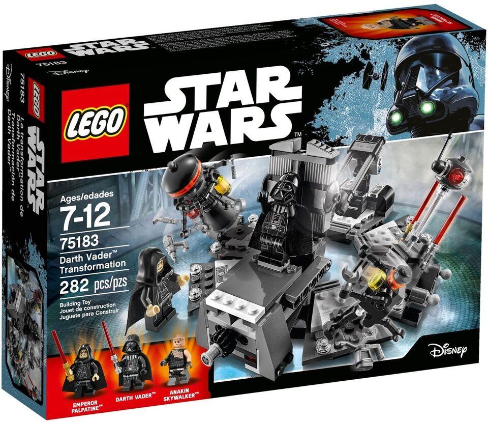 Lego Star Wars, 75183 Darth Vader Transformation UÅBNET