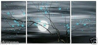 3 pieces Large canvas  Modern Wall Decor Art Oil Painting hand-painted no frame