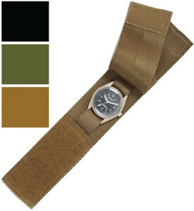 Image is loading Tactical-Commando-Wrist-Watchband-Strap-Band -Cover-Protector- 36eba21f1b4