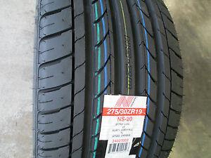 2 new 275 30zr19 inch nankang ns 20 tires 275 30 19 2753019 r19 ebay. Black Bedroom Furniture Sets. Home Design Ideas