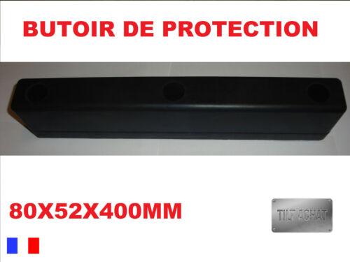 BUTOIR DE PROTECTION CAOUTCHOUC 80X52X400MM