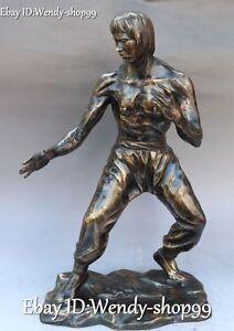 17-034-China-Bronze-People-Man-Famous-Kung-Fu-idol-Actor-Bruce-Lee-Bruce-li-Statue
