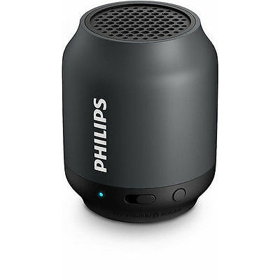 Philips BT50B/00 Black Philips BT50/B Portable Bluetooth Mobile/Tablet Speaker