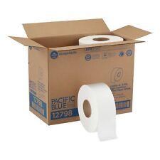 Georgia Pacific Envision 2 Ply Toilet Tissue Paper Rolls Jumbo White 8 Ct 12798