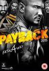 WWE Payback 2015 DVD Region 2