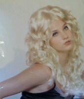 Sexy Curls Blonde Wig Halloween Costume by Alterego