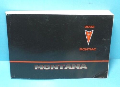 02 2002 Pontiac Montana owners manual