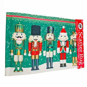 Michel Design Works Christmas Nutcracker Woven Scatter Rug