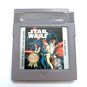 Nintendo Gameboy STAR WARS Game Cartridge Tested WORKING & Authentic