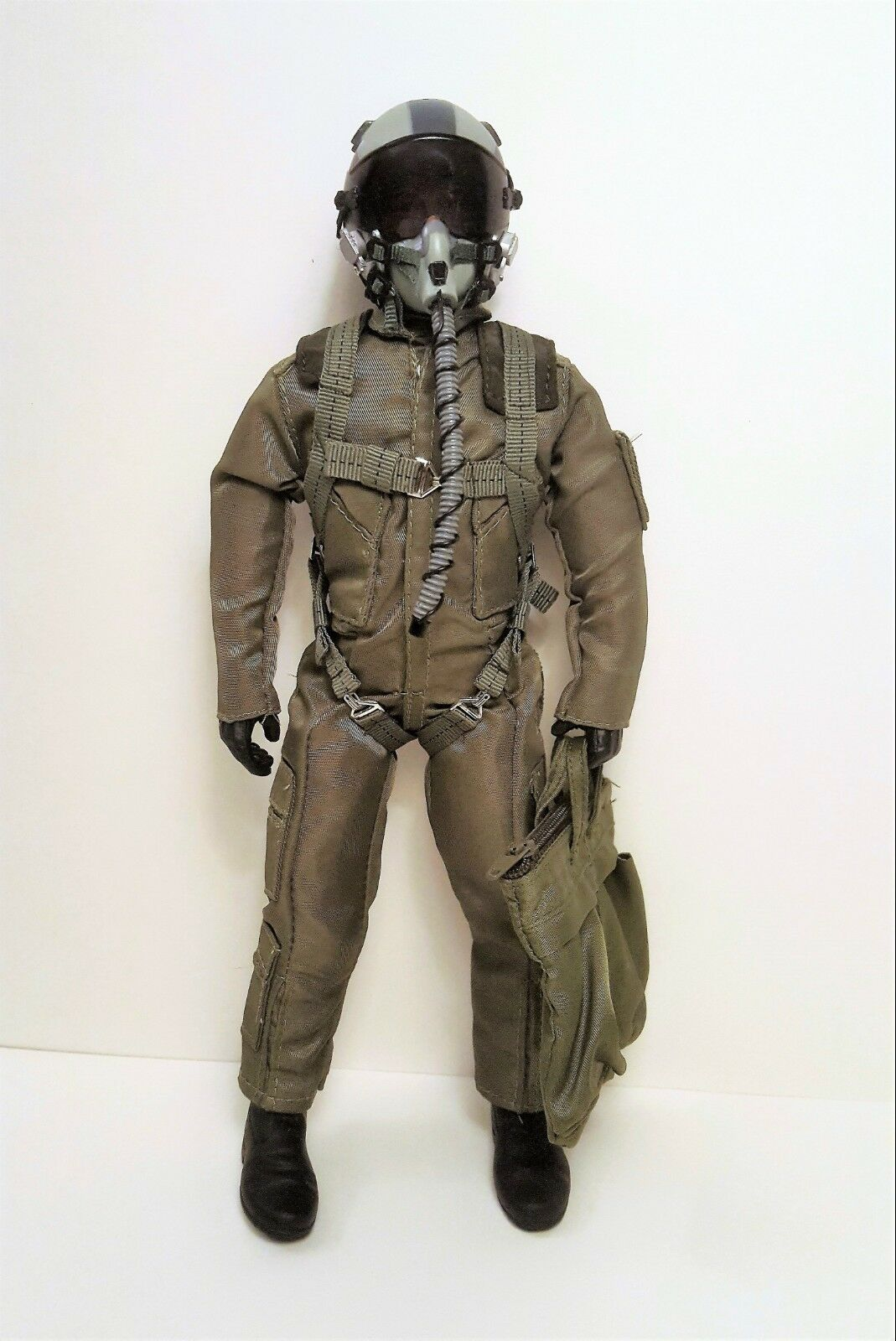 1 6  1 5 Scale US Air Force   Navy Fighter Pilot Figure w  Servo Operated Head